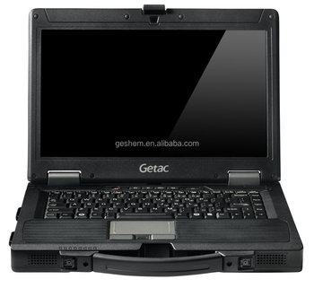 Made in Taiwan semi acidentada Getac laptop militar S400