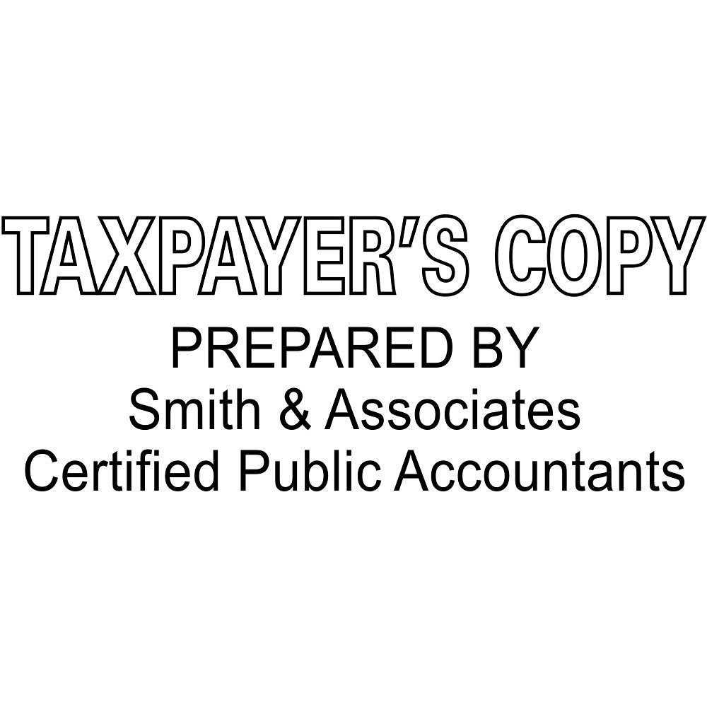 Buy Taxpayers Copy Stamp