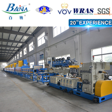 Chinese famous brand BAINA pipe vulcanization production line EPDM foam tube rubber curing oven