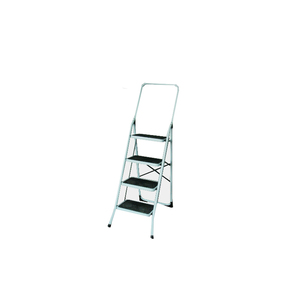 AY-T04 Easy folding iron household step ladder 4 steps with handle