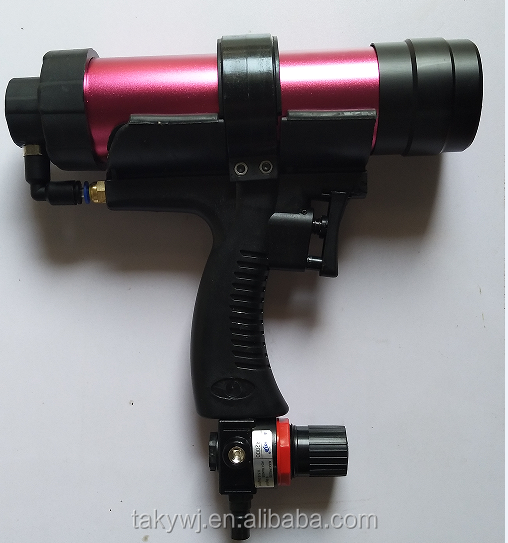 Aluminum alloy front cover 300ml air caulking gun