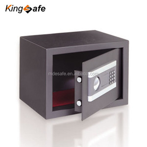 New Small gray Digital Electronic Safe Box Keypad Lock Home Office Hotel Gun