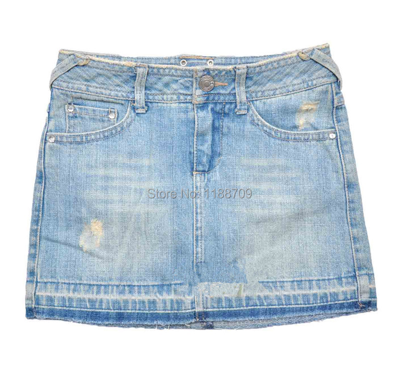 a34313f2ebe0 Get Quotations · Summer new style girls Denim skirts cotton girls Leisure skirts  kids short skirts Children's clothing ages