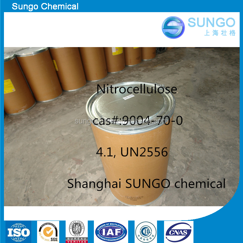 Industrial Nitrocellulose With Ethanol for paint making CAS No 9004-70-0