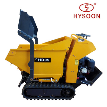 China garden crawler mini dumper truck for sale