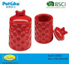 Ceramic pet treat jars porcelain dog food storage containers