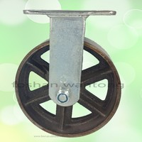 High Temperature Antique Cast Iron Heavy Duty Caster Wheel