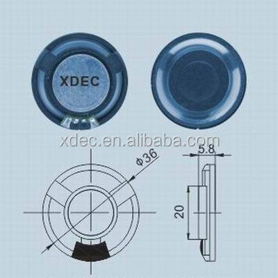 hot sales 36mm music speaker 8ohm 1w mini speaker components
