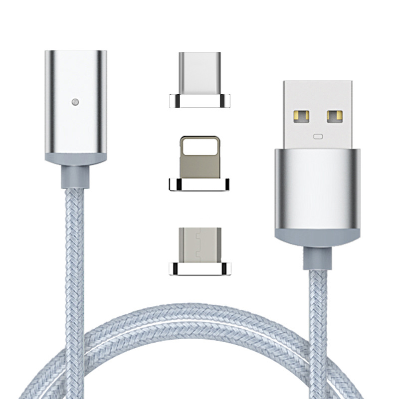 finest selection e7bd9 d3d70 Quick Charge Data Magnet Micro Usb Cable For Iphone 7/7plus For Ipad Mini  Mobile Phone Charger Usb 3.1 Type C Cable - Buy Micro Usb Cable,Usb 3.1  Type ...