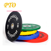 Calibrated Powerlifting Competition colorful pu weight Plate