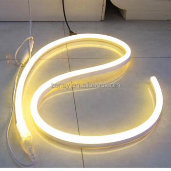 12v Orange Led Neon Flex Rope Light