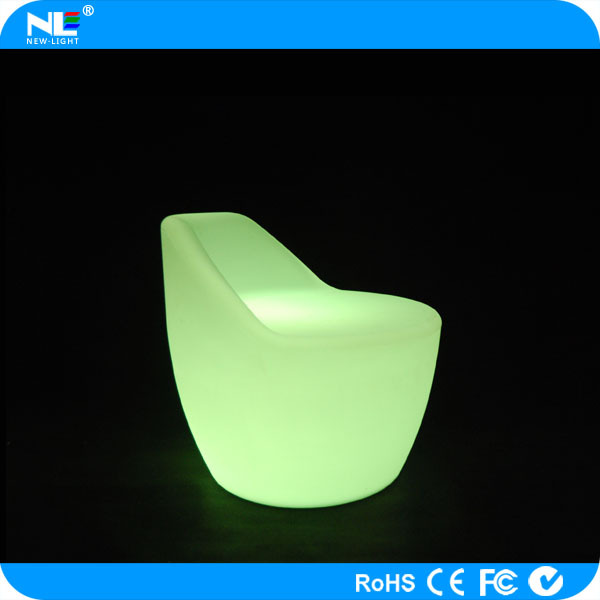 new product LED lights chair customized and unique LED glow bar chair lighting LED bar chair