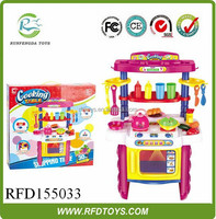 Toys kitchen play tool set cooking table toys for kids electric kichen set toy