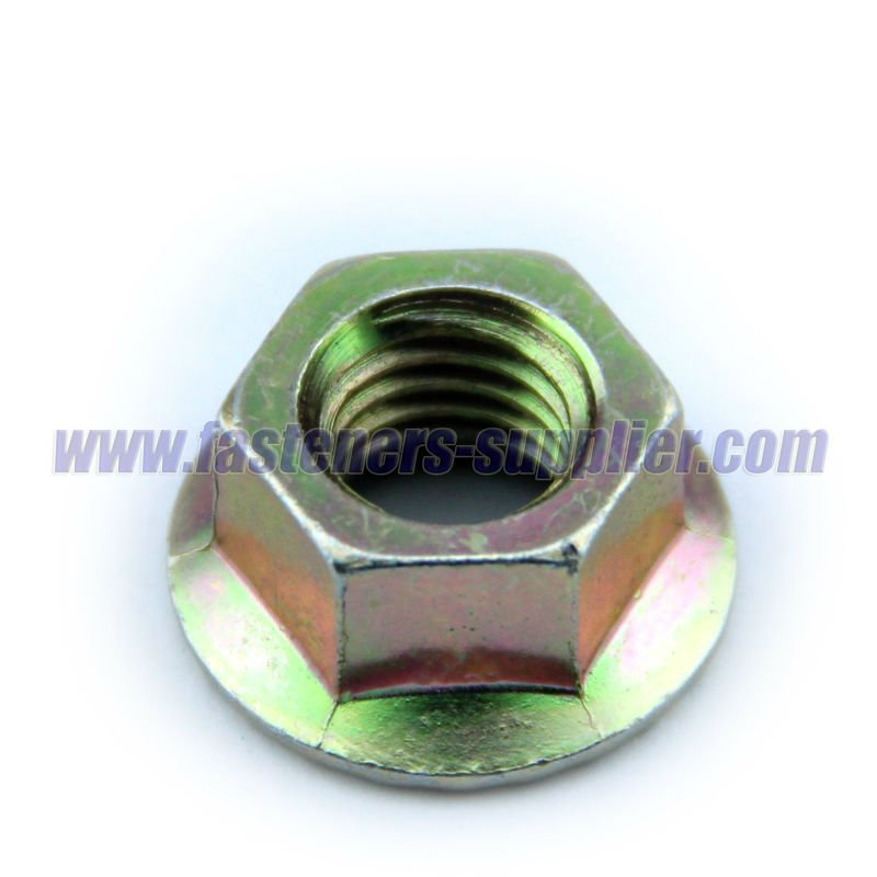 Zinc Plated IF Hex Flange Nut manufacturer