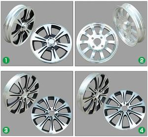 Electric rickshaw spare parts 3.25-16 size alloy wheel for E rickshaw and alloy wheel for Electric tricycle