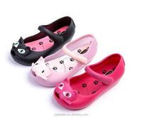 2017 new cheap wholesale kids fancy jelly shoes