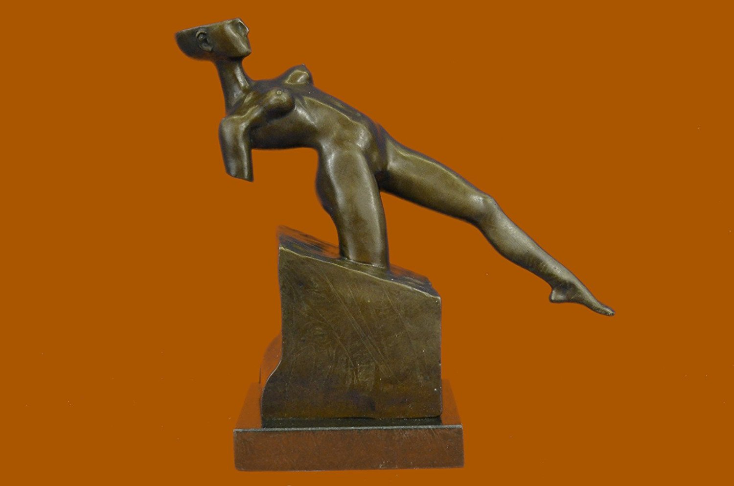 ...Handmade...European Bronze Sculpture Abstract Erotic Sensual Nude Woman By Rodin Modern Art (DS-566-UK) Bronze Sculpture Statues Figurine Nude Office & Home Décor Collectibles Sale Deal Gifts