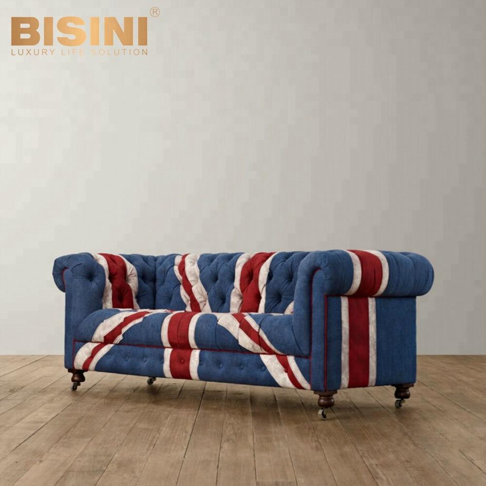 Bisini Antique Chesterfield Sofa Bed