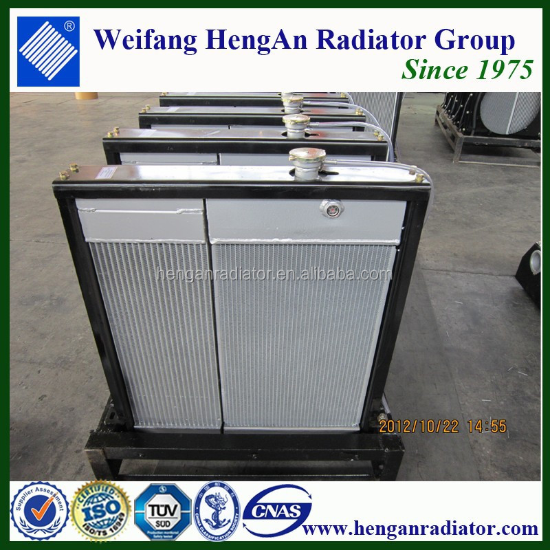 oil filled radiator water filled radiator for truck auto car