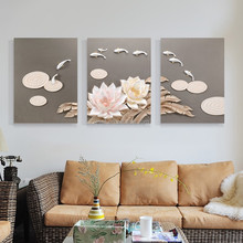 Vivid various top quality artificial flower decoration &3D wall art for home decor C8025A
