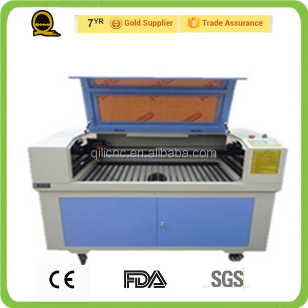 QL-1410 CE approved laser engraver /3d cnc 3d glass printing machine