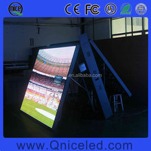 P10 SMD Outdoor Full Color Video Advertising Double Sided LED Display