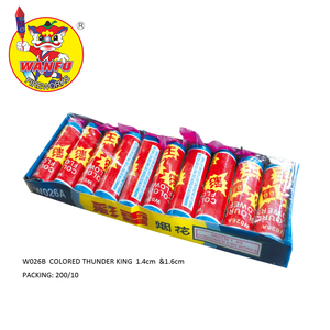 W026A colored thunder flower fireworks for wholesale