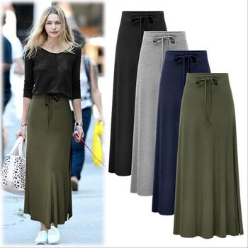 cfc058893ac X64573a Summer New Female Korean Girls Leisure Long Skirts - Buy ...