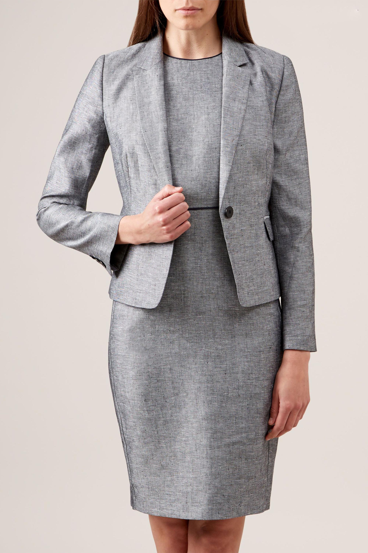 Wholesale Sweat Women Casual Office Linen Dress Suits Korean Fashion