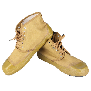 C005 canvas ankle boots shoes 5KV insulation safety shoes