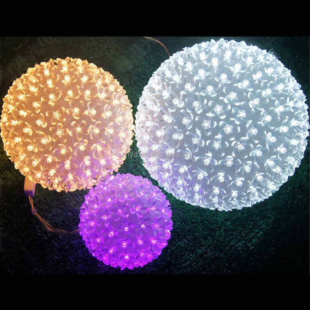 christmas wire ball ornament christmas wire ball ornament suppliers and manufacturers at alibabacom - Outdoor Lighted Christmas Decorations Wholesale