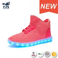 HFR-S14052215 wholesale discount led sport running shoes in china