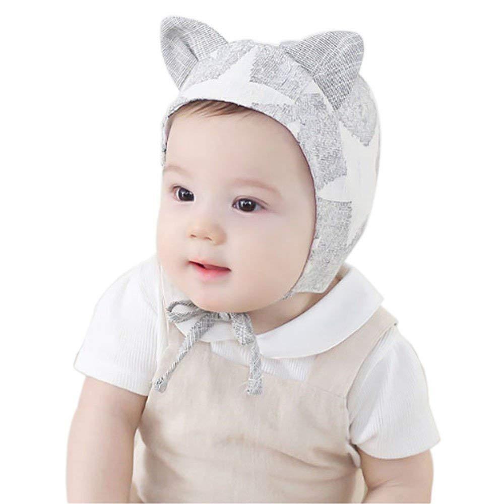 4a163c6d41693 Jshuang Super Soft Unisex New Born Baby Boy Girl Beret Cotton Beanie Hat Cap  Toddler New