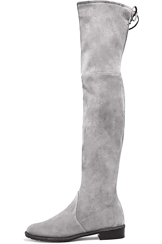 a0313621e89 Get Quotations · Mavirs Knee High Boots