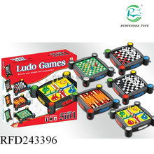 Kids intelligentie tafel schaken 5 in 1 play <span class=keywords><strong>ludo</strong></span> game