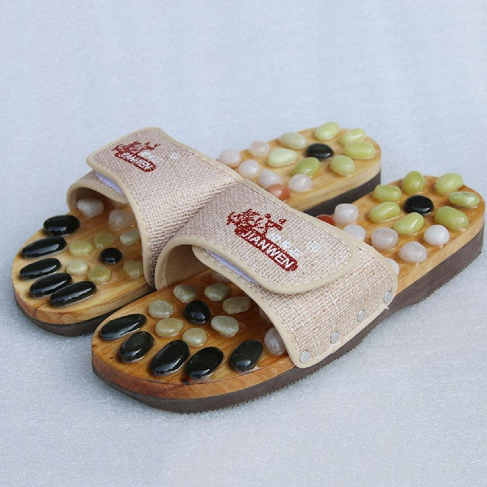 Magnetic massage slippers natural foot massage shoes health shoes acupuncture massage slippers
