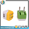 hot sale Cute Cubic Lovely Mini Portable mobile phone 5v 2a wall adapter mini charger