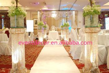 Tall Crystal Column Wedding Walkway Leading Road Buy Wedding Road