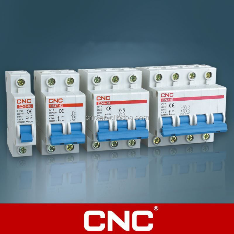 DZ47-63 Minature Circuit Breaker mcb auxiliary contact