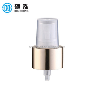 World best selling products fine 20mm aluminum crimp spray pump