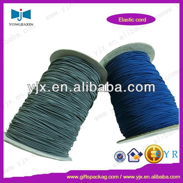 custom elastic polyester drawstring cord wholesale