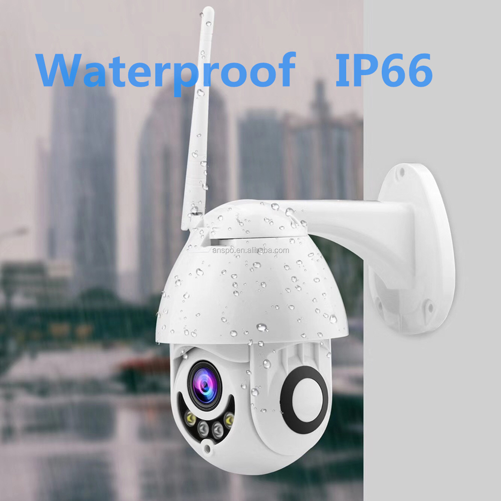 Smart Home 1080 P2P outdoor  Wifi PTZ Camera  wifi wireless Camera waterproof