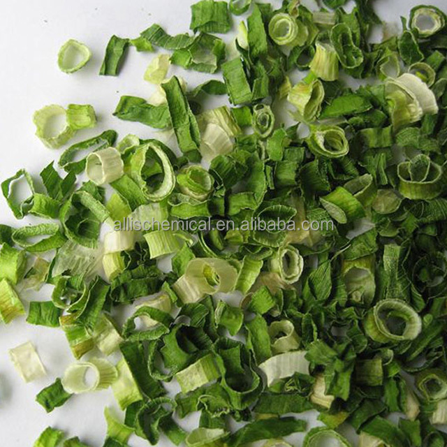 Natural Chopped Organic Dried Vegetables Dehydrated Chive Rolls