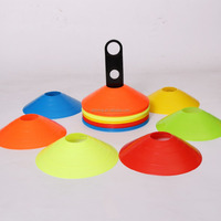Wholesale 50 pieces football soccer Marker Cones & Stand