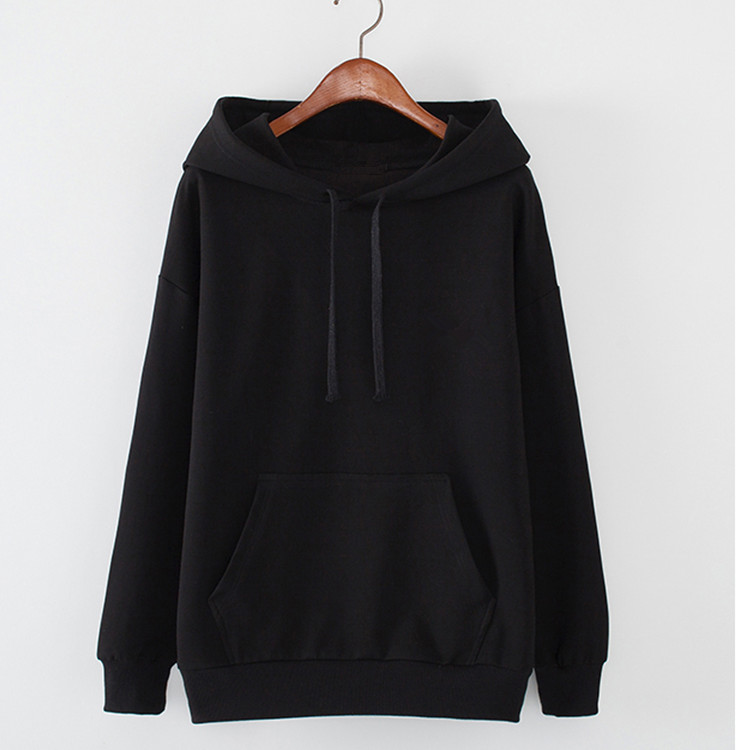 Custom Bamboo Fleece Unisex Blank Hooded Sweatshirt