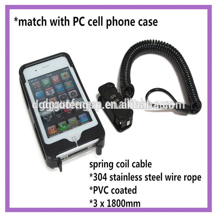 Anti Theft Steel Wire Cable 3-digit Combination Lock Kit For Cell ...