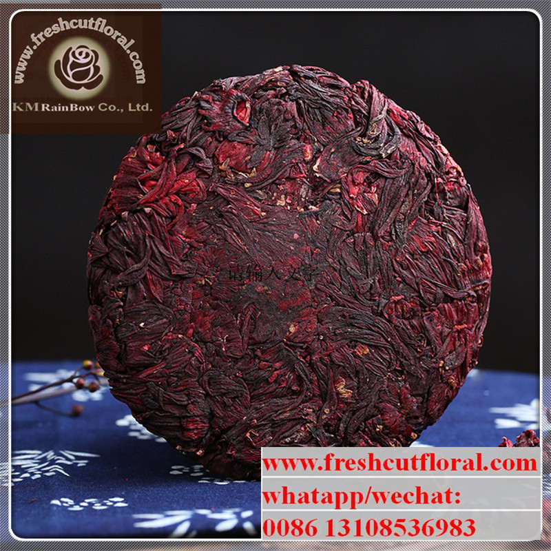 100% Natural New arrival Hot sale Various Yunnan Flower Tea Cake No Any Artificial Addictives or Chemical Additives