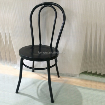 hotel dining room stylish wedding party bent tubular metal chair & Hotel Dining Room Stylish Wedding Party Bent Tubular Metal Chair ...