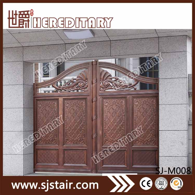 Aluminum Indian House Main Gate Designs