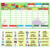 Amazon Supplier Custom Made Magnetic Dry Erase Chore Chart Reward Chart of Fridge Magnet Schedule Responsibility Charts